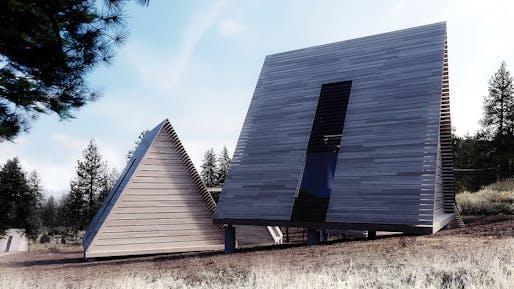 NEXT LA AWARD - MERIT: Perkins+Will, Camp Lakota, Frazier Park, CA.