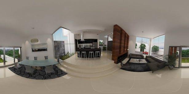 Interior proposal rendering