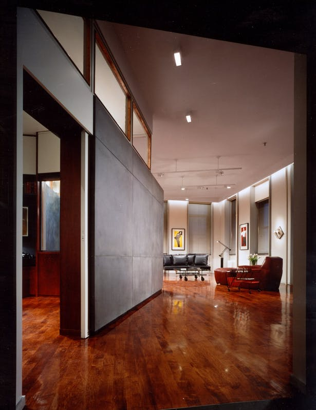 VIEW FROM ENTRY FOYER