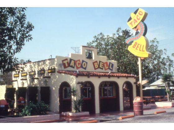 Moments in Fast Food Urbanism: First Taco Bell may be demolished