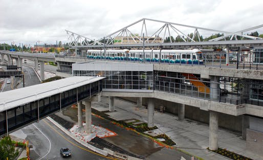 View of Seattle's Sea-Tac airport. Image courtesy of Wikimedia userSteve Morgan.