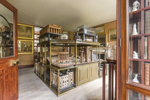 Inside the Soane Museum. Image via news.mit.edu.