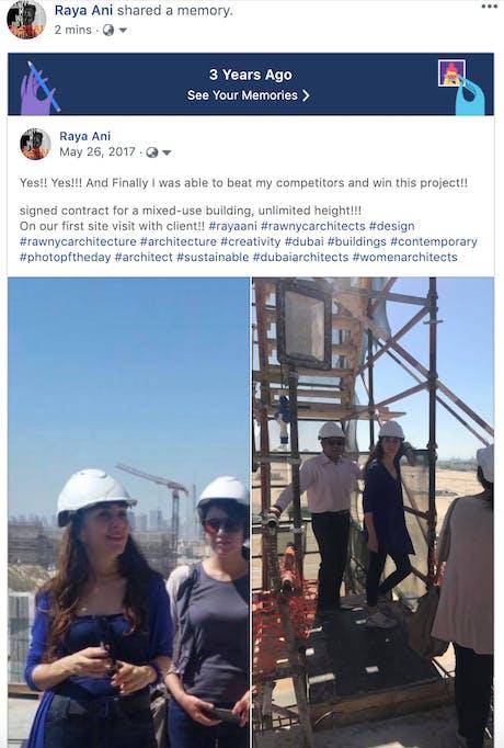 3 Years ago today! #rayaani #rawnycarchitects #design #rawnycarchitecture #architecture #creativity #dubai #buildings #contemporaryArchitecture #photopoftheday #architects #sustainabledesigns #dubaiArchitects #womenarchitects #InfluentialArchitects