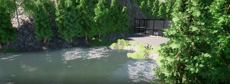 Lake House- Design and Rendering Works