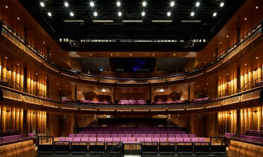 The Linbury theater is a newly created performance space inside the refurbished Royal Opera House. Photo: Hufton+Crow
