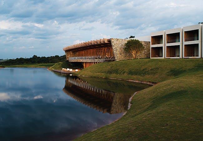 Isay Weinfeld, with Hotel Fasano Boa Vista, Porto Feliz, Brazil