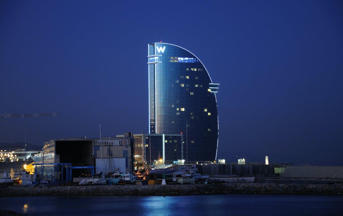 Hotel w barcelona ricardo bofill taller de arquitectura - Arquitectura barcelona ...