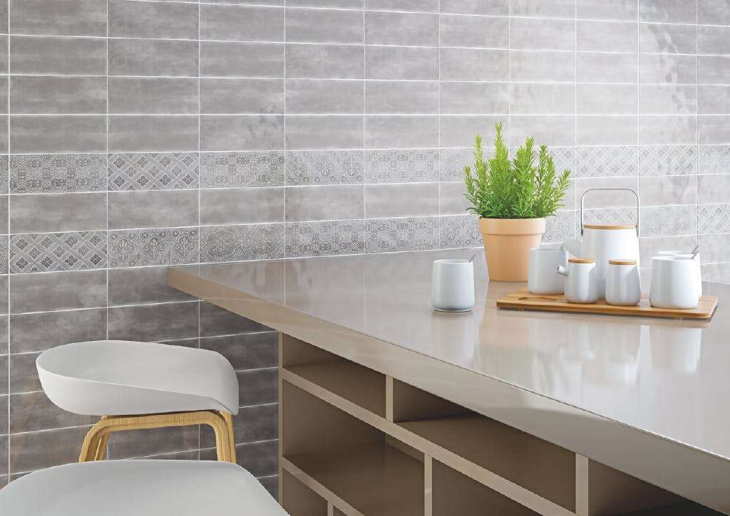 Maiolica 4x10 Ceramic wall tile - Handmade look | Roca Tile USA ...