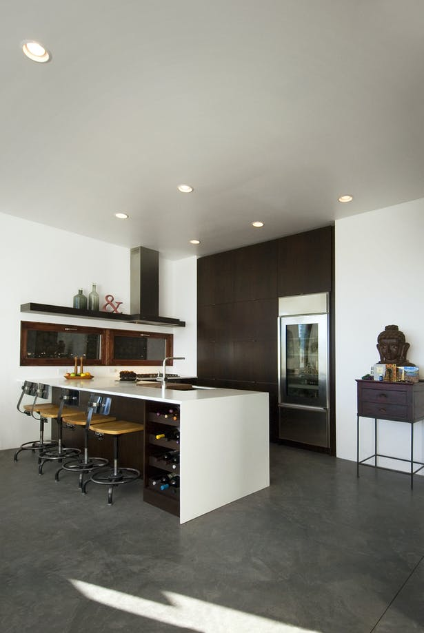 Kitchen - Ipe Cabinetry