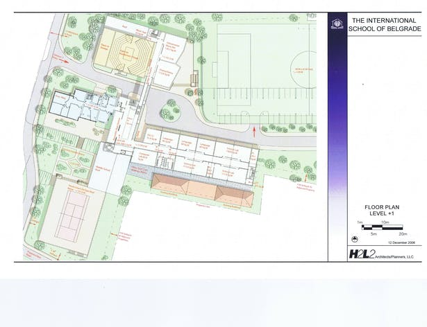 Floor Plan (level +1)
