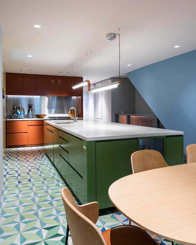 Clinton Hill Brownstone in Brooklyn, NY by MKCA Michael K Chen Architecture