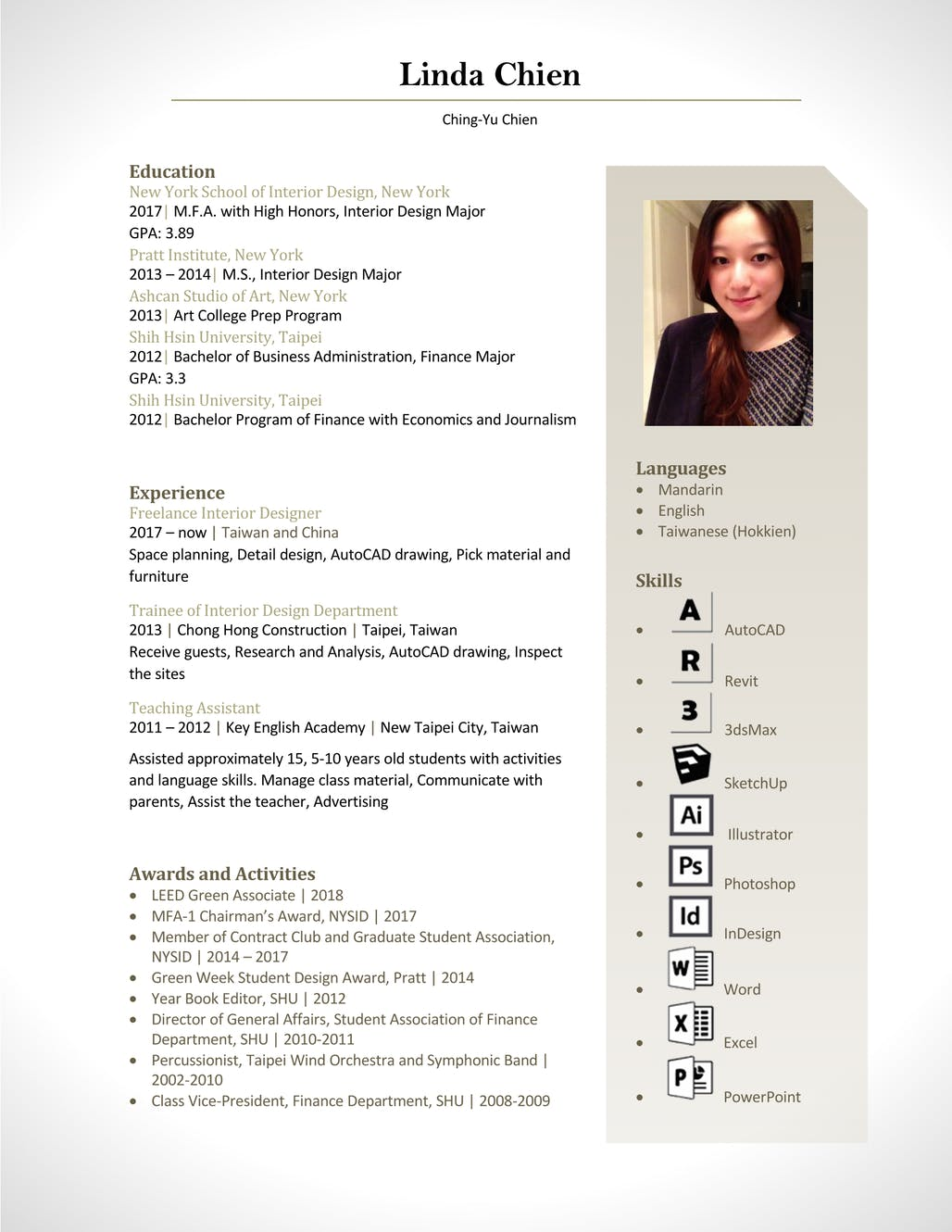 Linda Chien Archinect