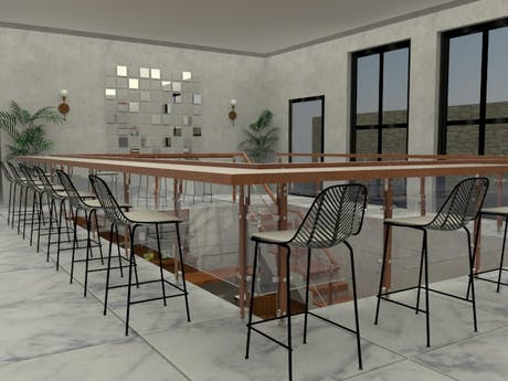 Restaurant project (design completed)