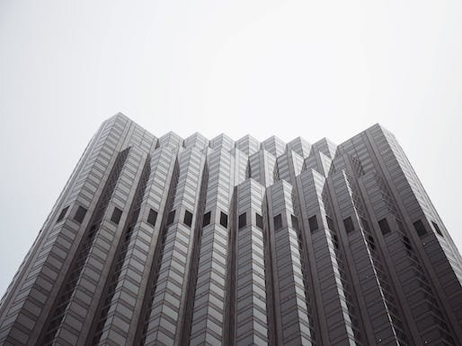 Midcentury architect Pietro Belluschi designed buildings across the country, including the Bank of America Tower in San Francisco, California. Image courtesy of Wikimedia user Vitaly Gooner.