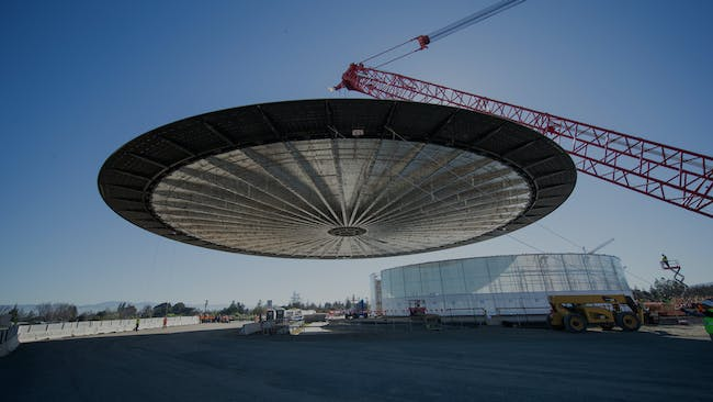 General construction work is expected to conclude by the end of this year, with the grand opening following in 2017. (Photo courtesy of Apple, via mashable.com)