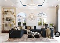 Mẫu thiết kế nội thất biệt thự vườn 1 tầng đẹp | NEOHouse