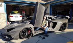 Father and son team 3D-print a Lamborghini