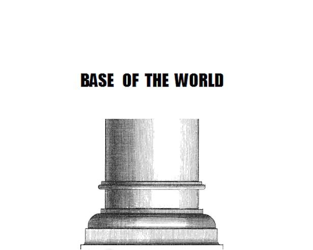 Pillar - ooooops! - base of the world. (Piero Manzoni)