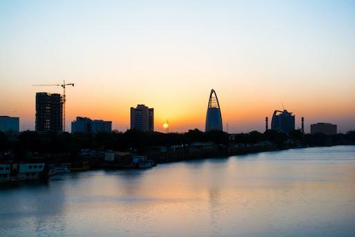 Khartoum, Sudan skyline. Image via agataindiatsiblog.com