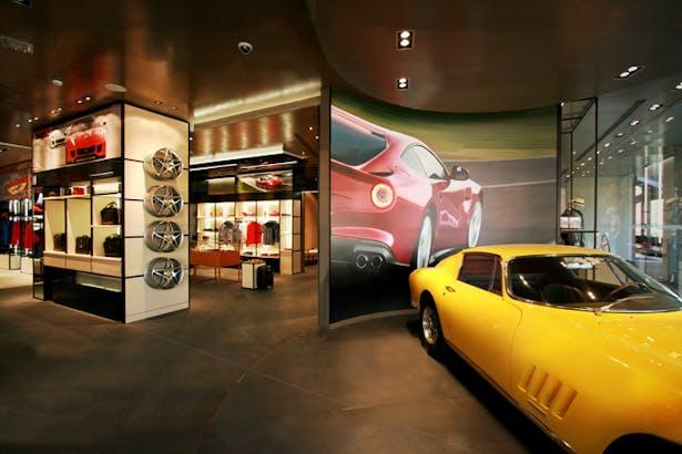 Ferrari Store Maranello - Lifestyle Area