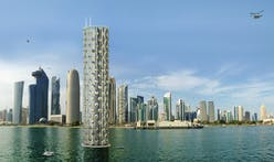 Luca Curci Architects imagine a self-sustaining vertical 'city-building'