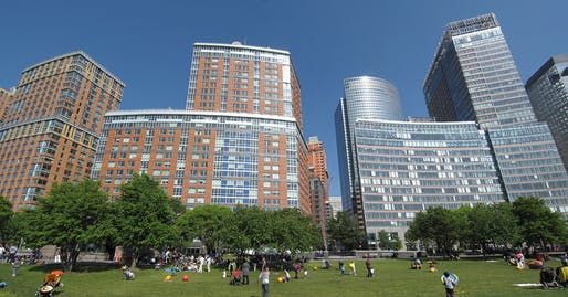 "Photo courtesy of <a href=""https://commons.wikimedia.org/wiki/File:Battery_Park_City_panoramic.jpg""> Wikimedia </a>"