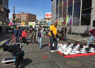 Hillel Place Plaza, Flatbush Junction, Brooklyn, New York