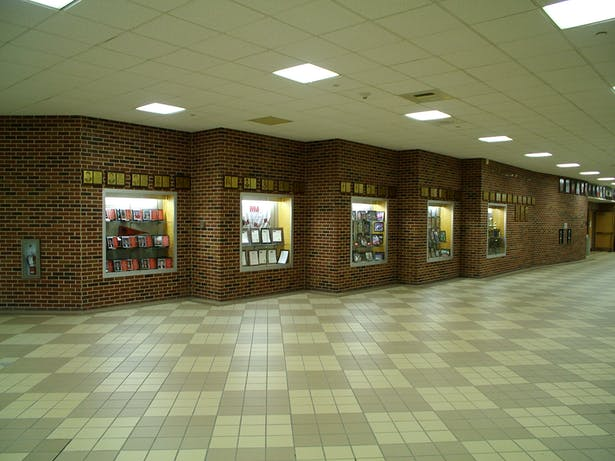 INTERIOR VIEW HALL OF FAME DISPLAY AREA