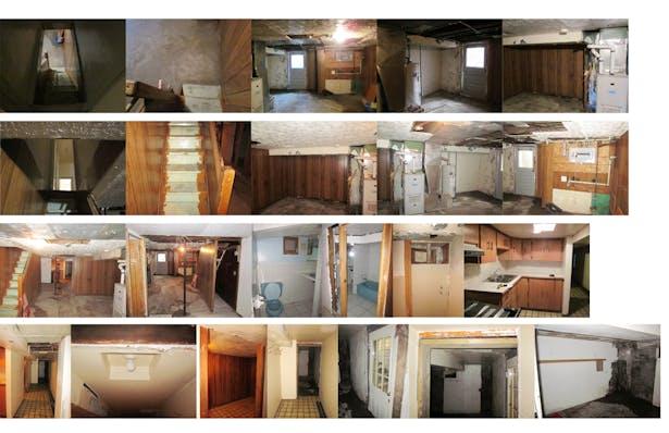 Interiors before transformation 1/3