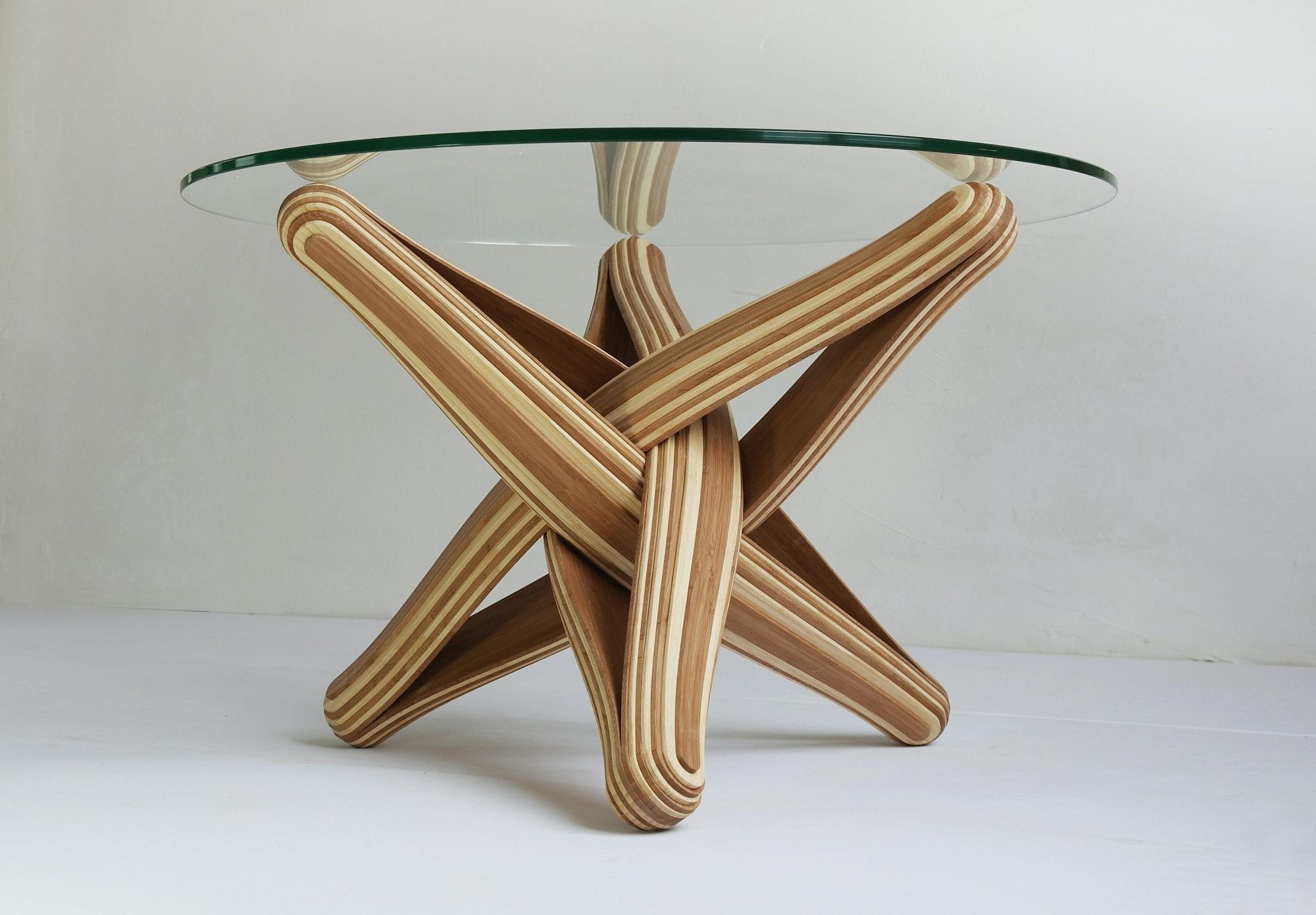 LOCK Coffee Bamboo Coffee Table