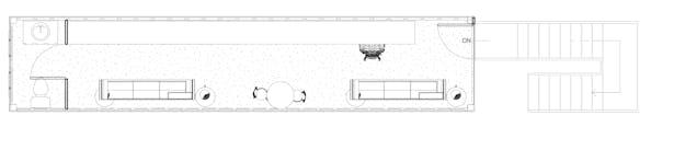 Back of House/Office Floor Plan