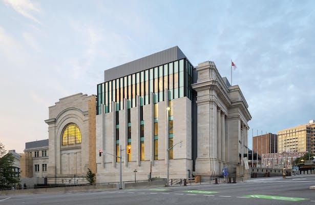 Senate of Canada Building exterior Tom Arban Photography