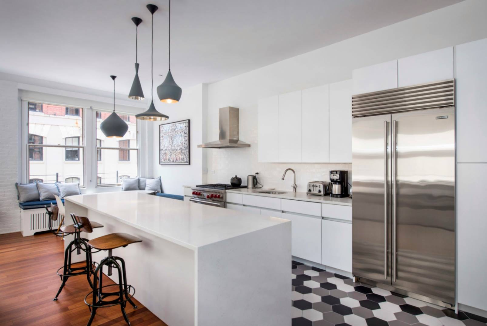 Myhome Design Remodeling Suggests Open Kitchen Floor Plan