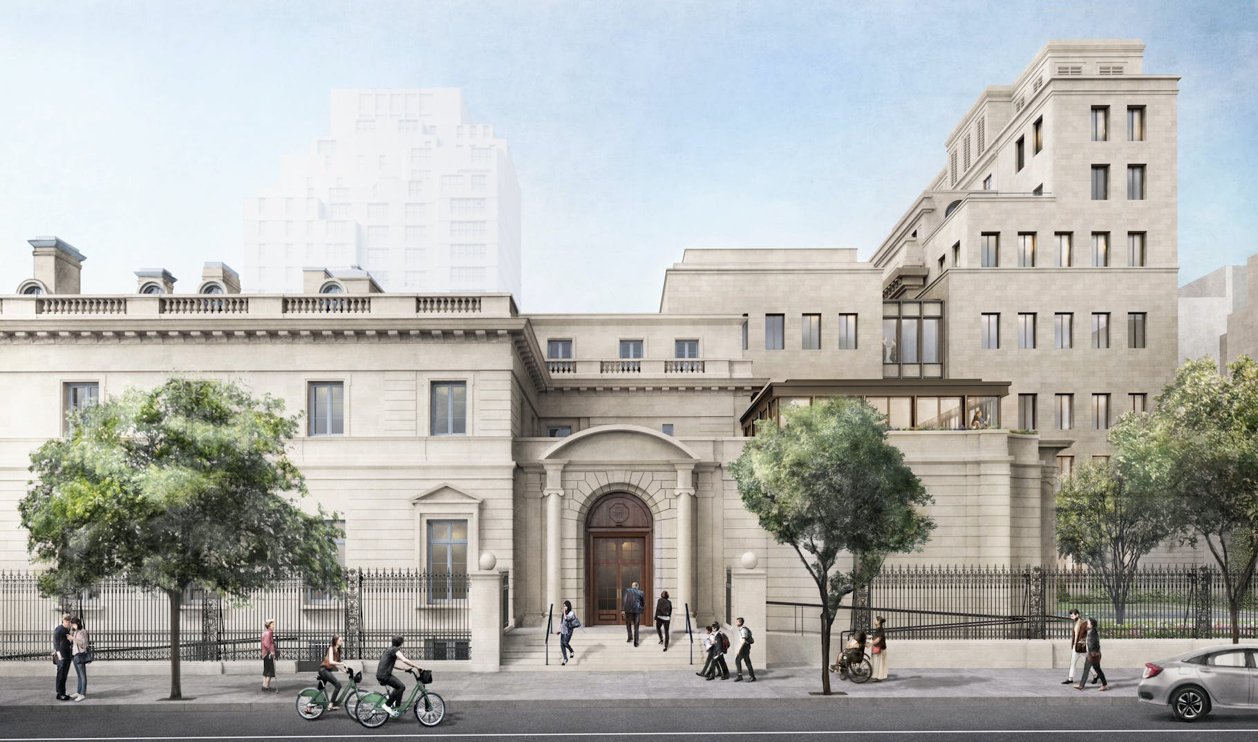 Frick Collection Expansion Clears Nyc Landmarks Preservation