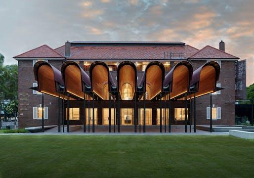 Winner of the NSW Architecture Medallion and the Greenway Prize for Heritage: Joynton Avenue Creative Precinct. Photo: Michael Nicholson.