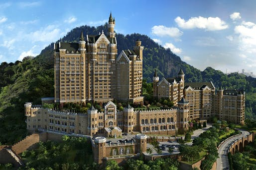 The Castle Hotel in Dalian, Liaoning, seeks to recreate a genuine Bavarian experience, replete with a beer hall and German food. (Jing Daily; Image: Starwood Hotels)