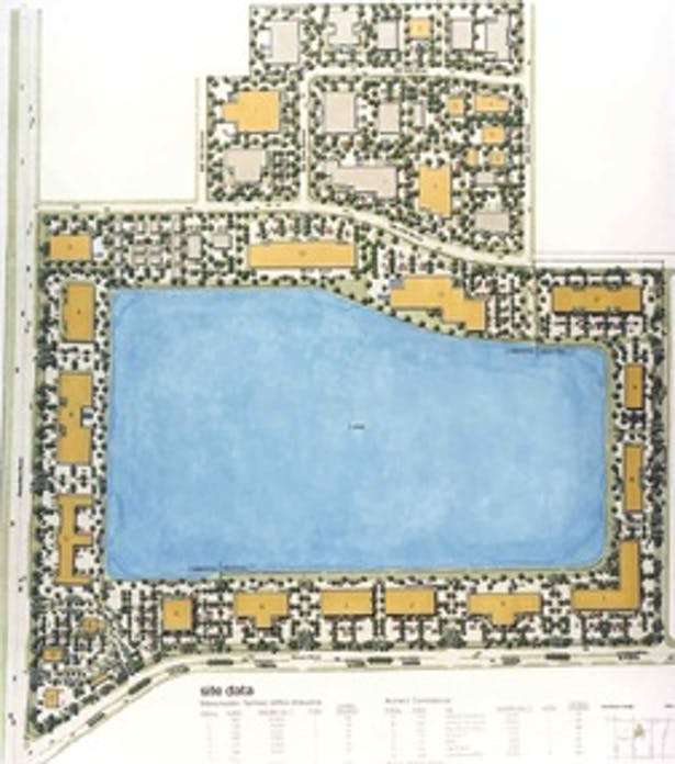 ENTERPRISE COMMERCE CENTER - Site Plan