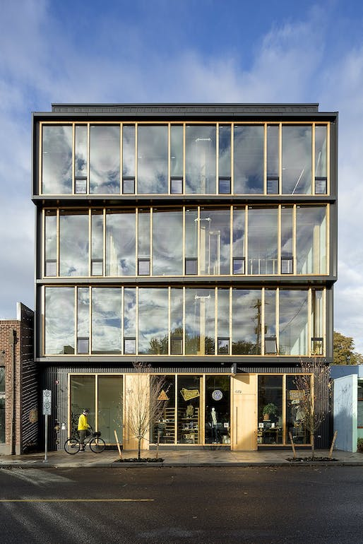 Albina Yard in Portland, OR. Image courtesy of LEVER Architecture