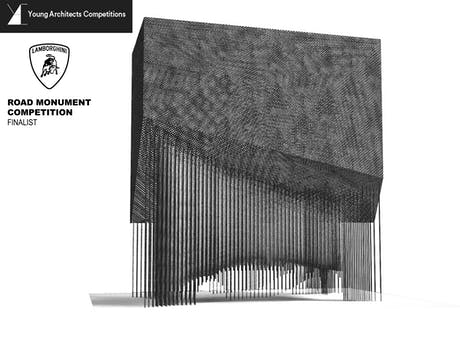 Finalist Entry: Lamborghini Road Monument Competition