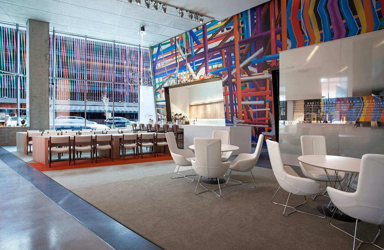 Frch Design Worldwide Upgrades Zaha Hadid 39 S Contemporary Arts Center Lobby In Cincinnati News
