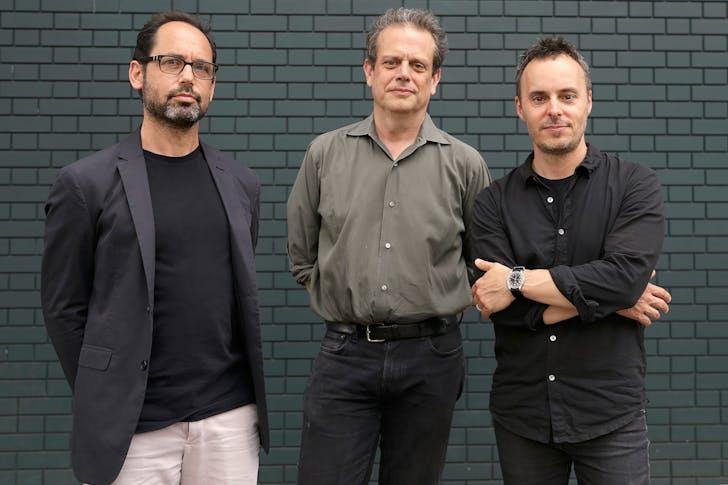 Leroy Street Studio partners Marc Turkel, Morgan Hare, and Shawn Watts (from left to right). Photo: Pankaj Khadka. All images courtesy of Leroy Street Studio.