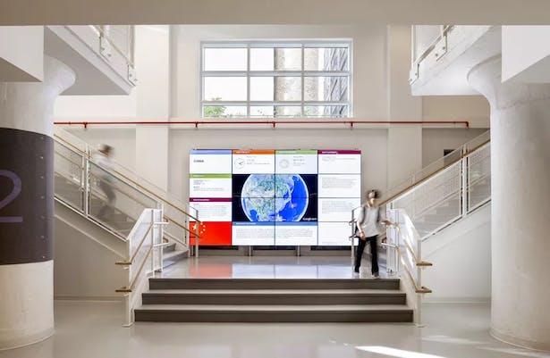 The Main Stairs @ Ground floor