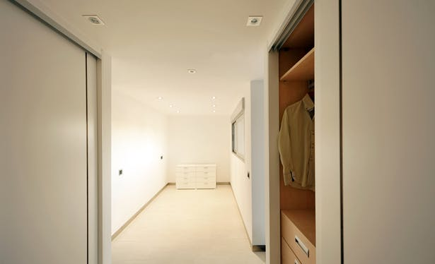 AQSO arquitectos office. Fragmented house. Bedroom