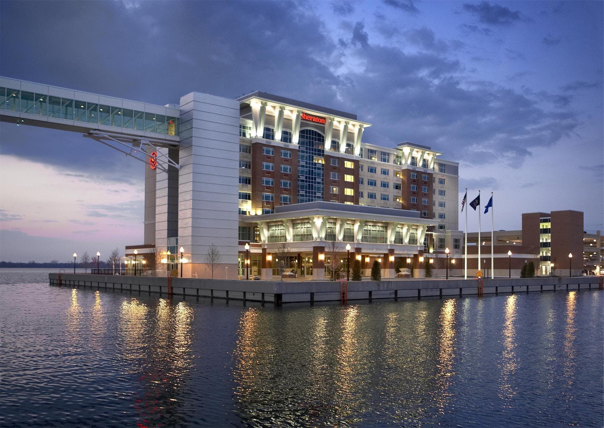 Erie Sheraton Bayfront Hotel John Keiser Archinect