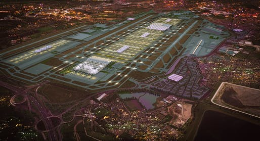 Grimshaw's winning design for the Heathrow expansion - Image Heathrow/Grimshaw