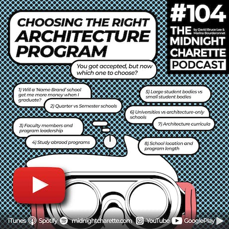 How to choose the right Architecture school - EP #104