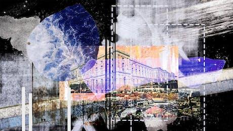 Architecture Collage Art