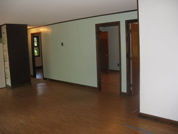 Living Room towards Master Bedroom- Existing