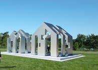 The Positive/Negative House Pavilion