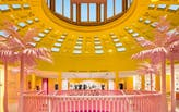 """Louis Vuitton's """"shoppable museum"""" pop-up makes a pitstop in Beverly Hills"""